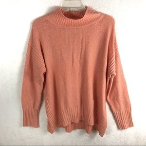 Anthro Angel Of The North Mock Turtle Neck Sweater